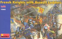 #72002 French Knights with Assault Ladders
