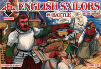 #72082 English Sailors in Battle 16-17th Century