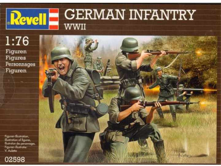#2598 German Infantry (WWII)