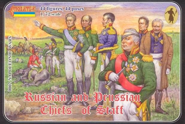 #002 Russian and Prussian Chiefs of Staff