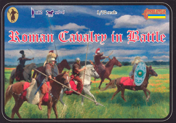 #100 Roman Cavalry in Battle
