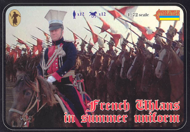 #102 French Uhlans in Summer Uniform