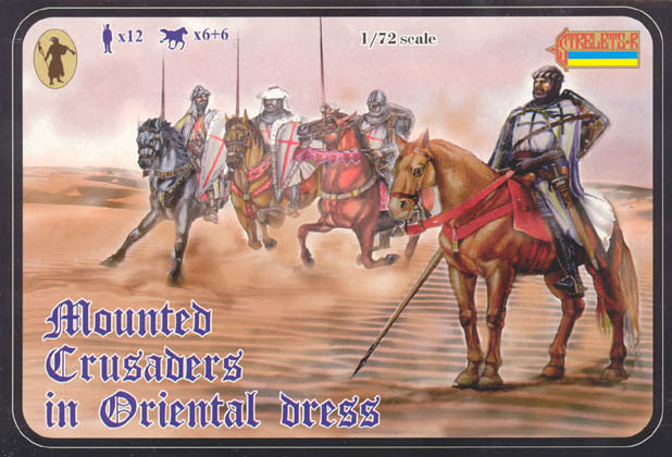 #104 Mounted Crusaders in Oriental Dress