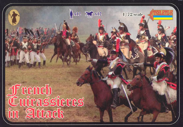 #105 French Cuirassiers in Attack