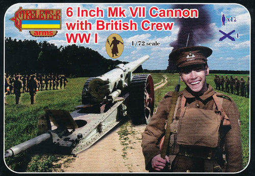 #A001 6-Inch Mk VII Cannon with British Crew