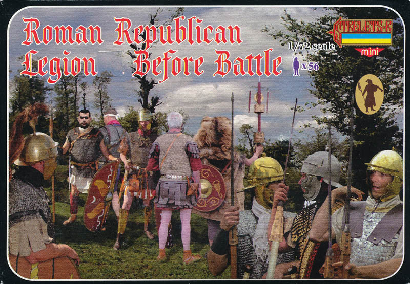 #M080 Roman Republican Legion Before Battle