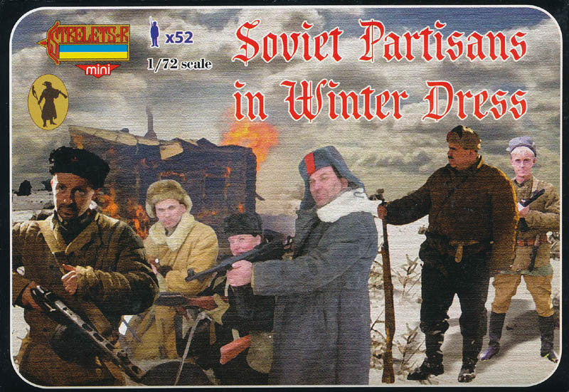 #M084 Soviet Partisans in Winter Dress