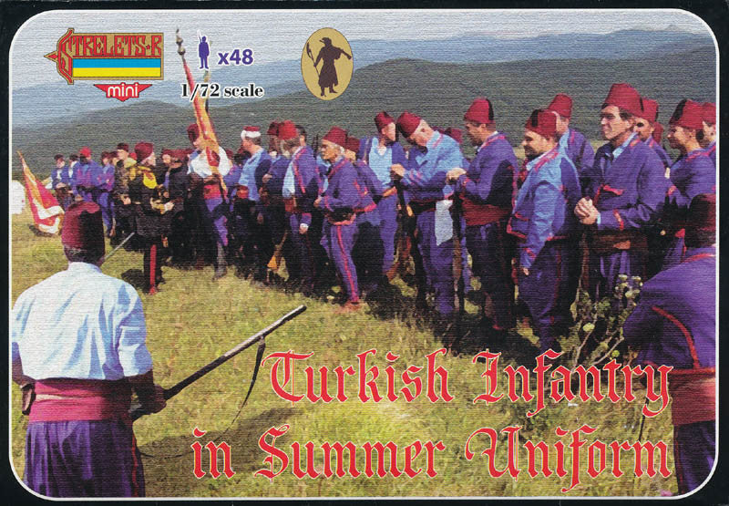 #M092 Turkish Infantry in Summer Uniform