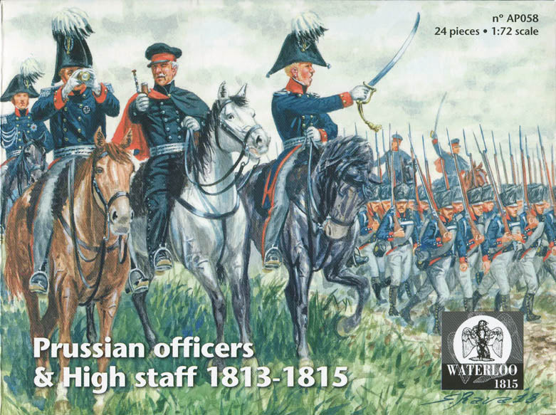 #WAT058 Prussian Army and High Staff 1813-15 (Waterloo)