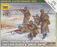 #6197 Soviet Infantry in Winter Uniform