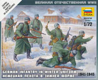 #6198 German Infantry in Winter Uniform
