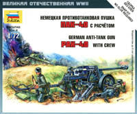 #6257 German Anti-Tank Gun PaK 40