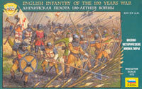 #8060 English Infantry of the 100 Years War
