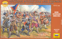 #8061 Austrian Musketeers and Pikemen