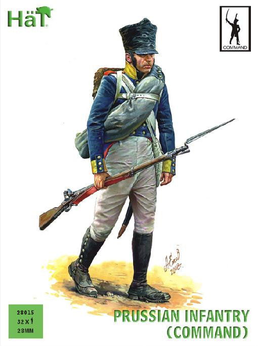 #28015 Prussian Infantry (Command)