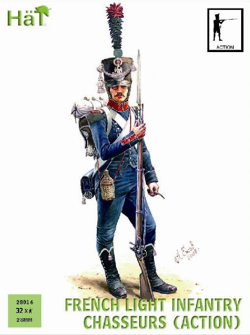 #28016 French Chasseurs (Action poses)