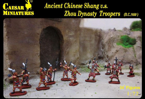 #029 Ancient Chinese Shang vs Zhou Dynasty Troopers