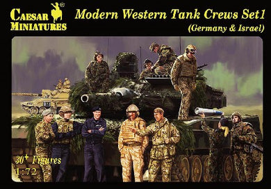 #102 Modern Western Tank Crews Set 1: Germany & Israel