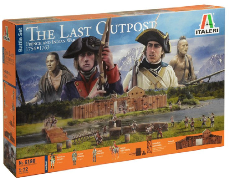#6180 The Last Outpost 1754-1763 French & Indian War Diorama Set