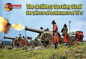 #72023 Artillery Serving Staff for Piece of Ordnance 17C