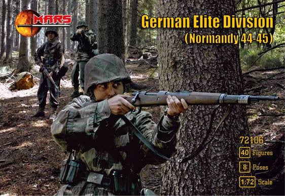#72106 Normandy 1944-45 German Elite Division