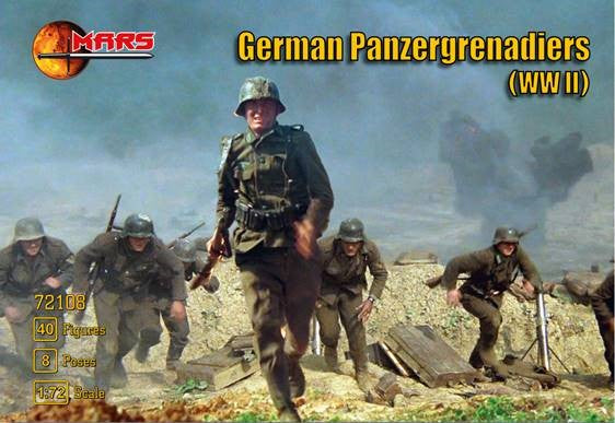 #72108 WWII German Panzergrenadiers