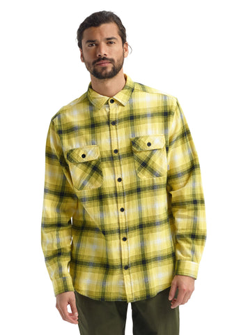 Burton Brighton Flannel 14053111700 Maize Bad Hombre Plaid