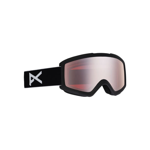 Anon Helix 2.0 W/Spare Lens Goggle Black 18531100008
