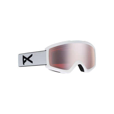 Anon Helix 2.0 W/Spare Lens Goggle White 18531100106