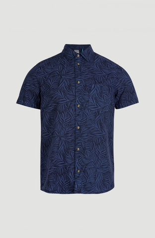 O'Neill Leave Now Shortsleeve Shirt Blue Print 1A1310_5900