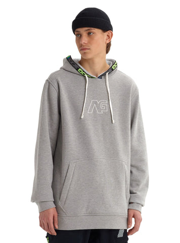 Analog Crux Pullover Hoodie Gray Heather 20577101020