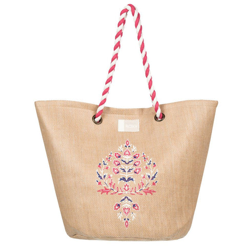 Roxy Sunseeker Beach Bag Natural ERJBT03084-YEF0