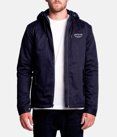 Rhythm Fleet Jacket Navy JUL16-JK04