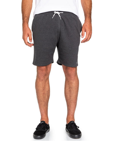 "Element Cornell Track 19"" Sweat Shorts W1WKD3ELP1-0519 Charcoal Heather"