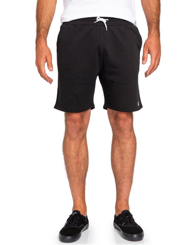 "Element Cornell Track 19"" Sweat Shorts W1WKD3ELP1-3732 Flint Black"