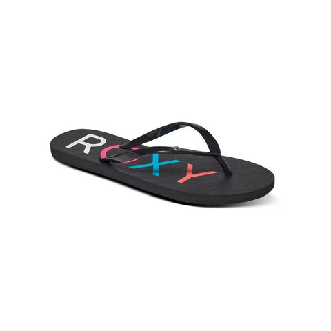 Roxy Sandy Flip Flops Black
