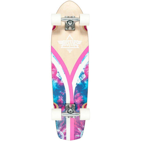 Dusters California Flashback Checker Tie Dye Cruiser Complete 8.25x31.125 49.10531508