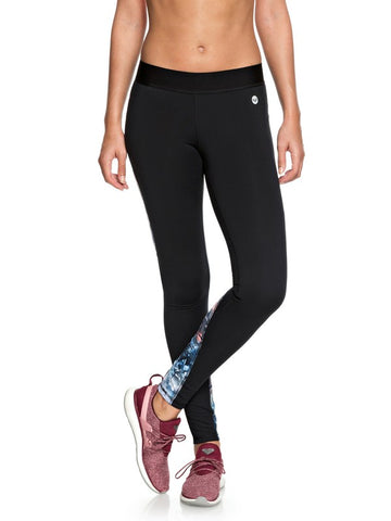 Roxy Snow Piercer Technical Leggings Bachelor Button Water Of Love