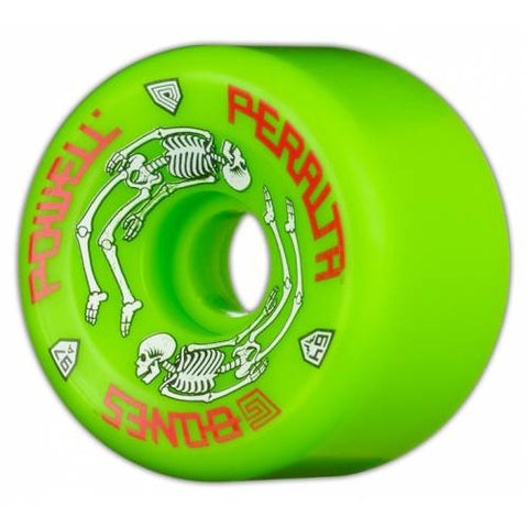 Powell Peralta G-Bones 64mm 97a Green Skateboard Wheels 845584050153