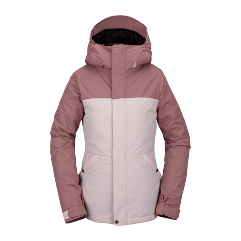 Women's Volcom Bolt Insulated Jacket Faded Pink H0452114