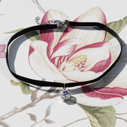 Flower Crystal Choker