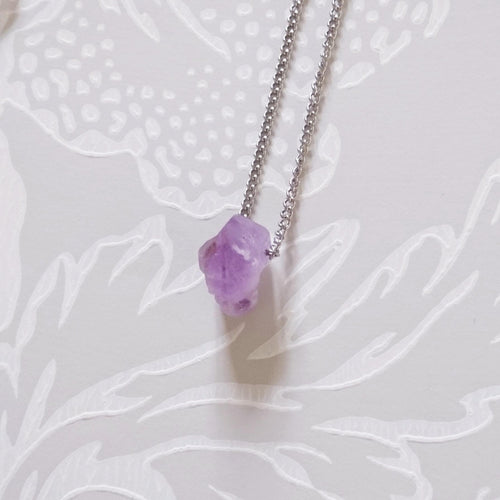 Small Purple Quartz Necklace