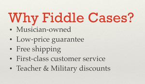 FiddleCases your online source for stringed instrument cases