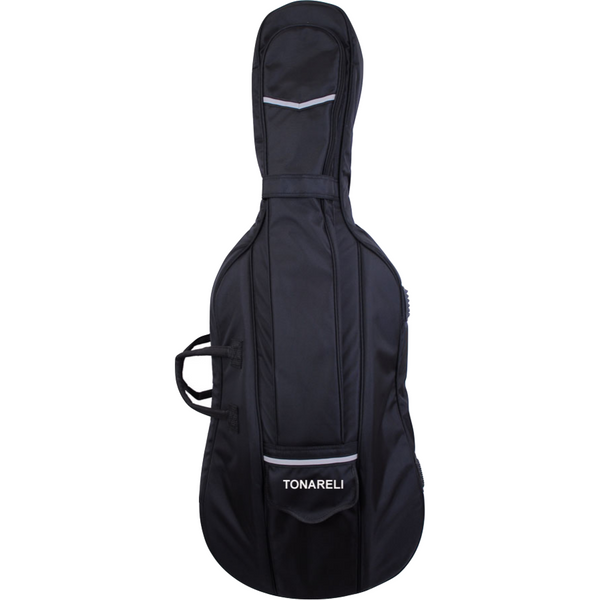 Tonareli Cello Designer Super Duty Gig Bag Black VCDB1000