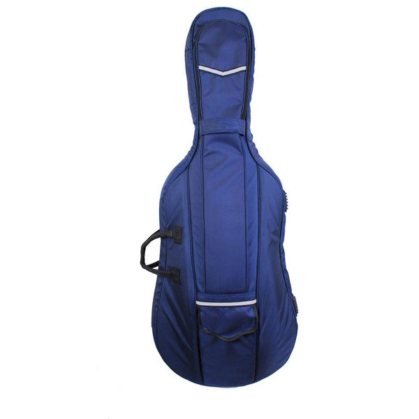 Tonareli Cello Designer Super Duty Gig Bag Navy VCDB1001