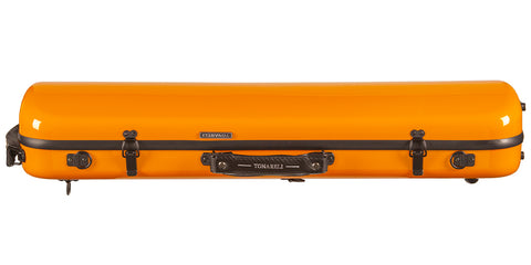 Tonareli Violin Oblong Fiberglass Case VNFO1005 Orange