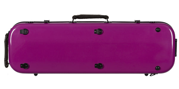 Tonareli Violin Oblong Fiberglass Case VNFO1006 Purple