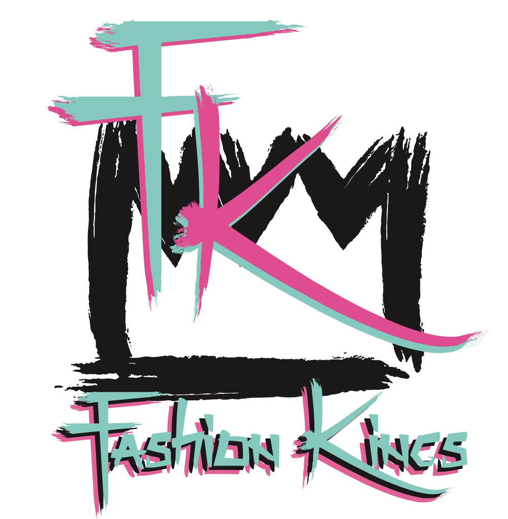 Fashion Kings Shirt (White & Pink)