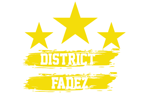 Custom District Fades Shirt (Yellow)