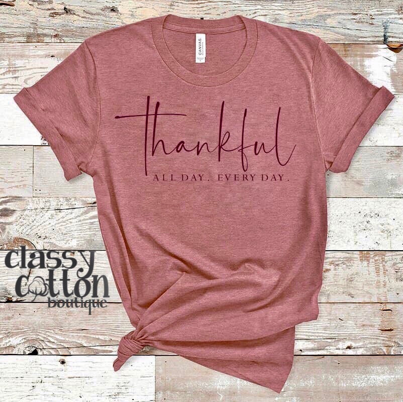 3996-Thankful All day Tee